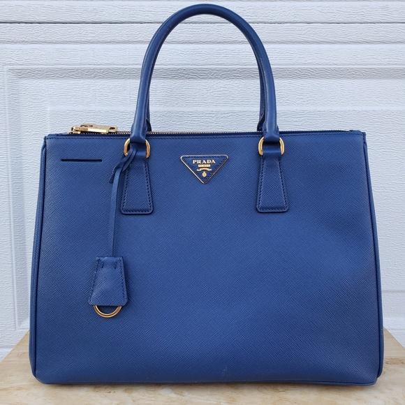 6caadbce00b67b Prada Bags | Galleria Saffiano Lux Double Zip Tote Medium | Poshmark